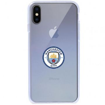 Manchester City Transparent iPhone X Case